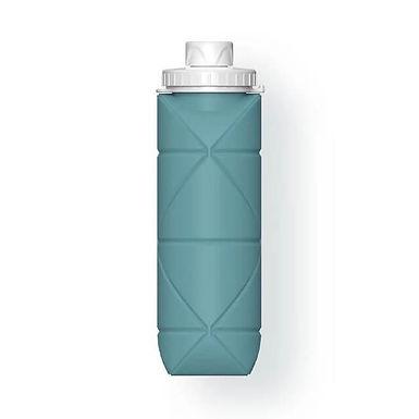 Botella de viaje plegable