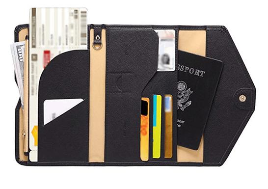 Porta Pasaporte & Billetes De Viaje