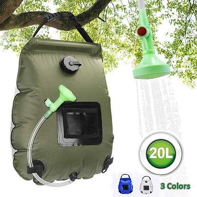 Bolsa de ducha solar para camping