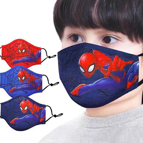 Mascarillas lavables reutilizables Niños De Superheroes Parairdevacaciones