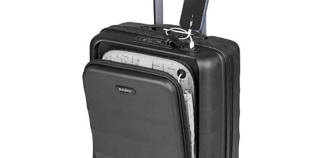 Maletas De Viaje De Cabina Con USB Para Ir De Vacaciones Negro