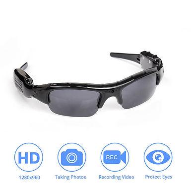 Gafas De Sol Polarizadas Con Camara De Grabacion Para Deportistas Ciclistas