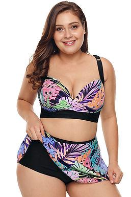 Bañadores con falda incorporada mujer tallas grandes