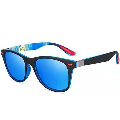 Gafas De Sol Polarizadas Con Lentes De Color y De Espejo Para Hombres y Mujeres