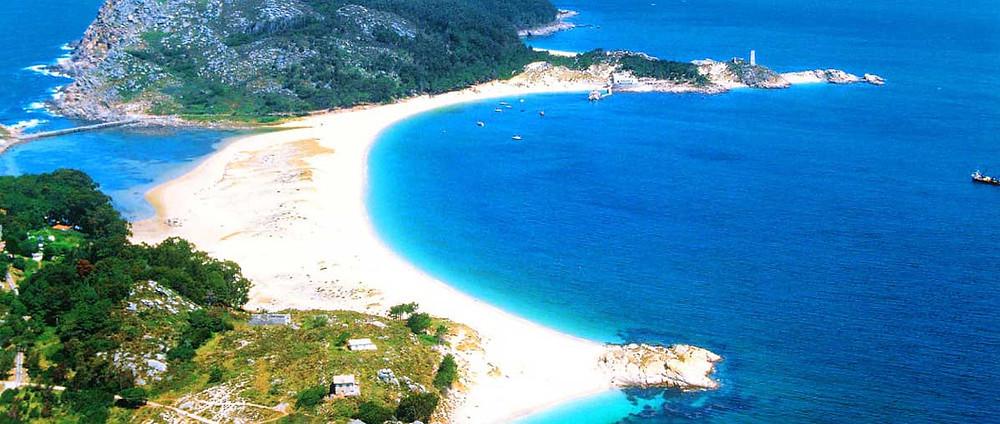Playa-de-rodas-islas-cíes-galicia-para ir de vacaciones