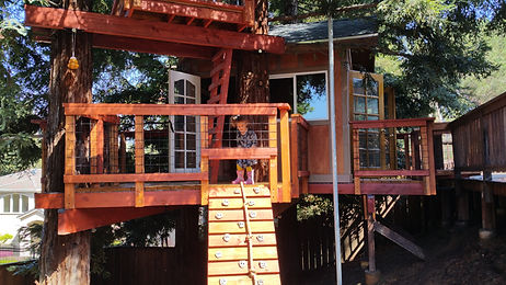 two story kids treehouses