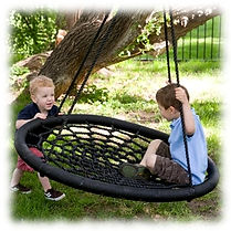 kids spider swings for playhouses
