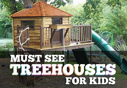treehouses designs for kids