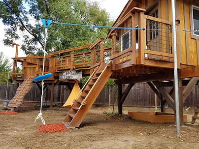 childrens bay area treehouse building company