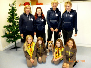 The Surrey Ark gives Claygate Brownies a talk on all aspects of animal care for their 'Friend to Ani