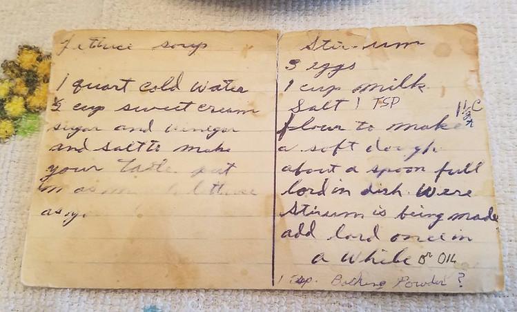 Violet Deigel's Stirrum Recipe