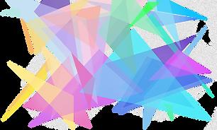 Prisma de color transparente