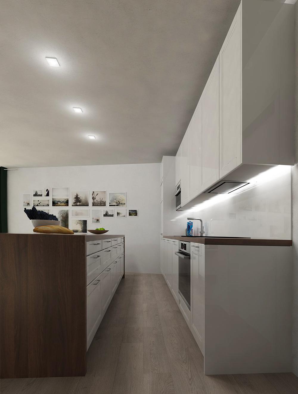 Návrh a stavba interiéru bytu Brno3