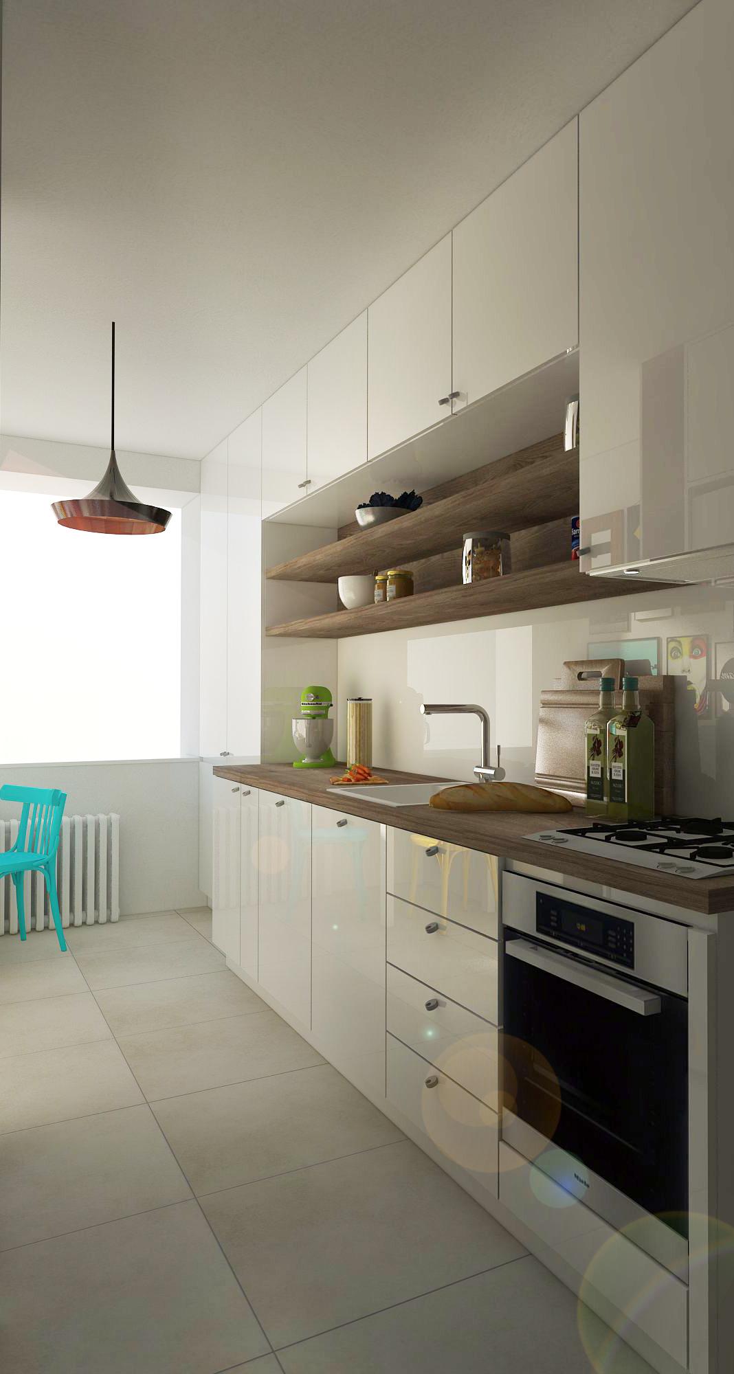 Návrh designu kuchyně Brno