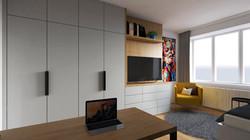 Návrh interiéru bytu Brno 3