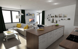 Návrh a stavba interiéru bytu Brno1