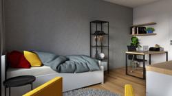 Návrh interiéru bytu Brno 2