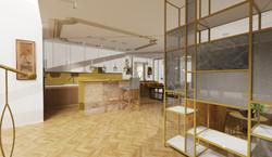 Návrh interiéru luxusní byt Praha 2