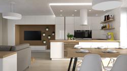 Návrh interiéru novostavby Bítýška2