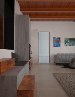Moderní interiér Říčany 3