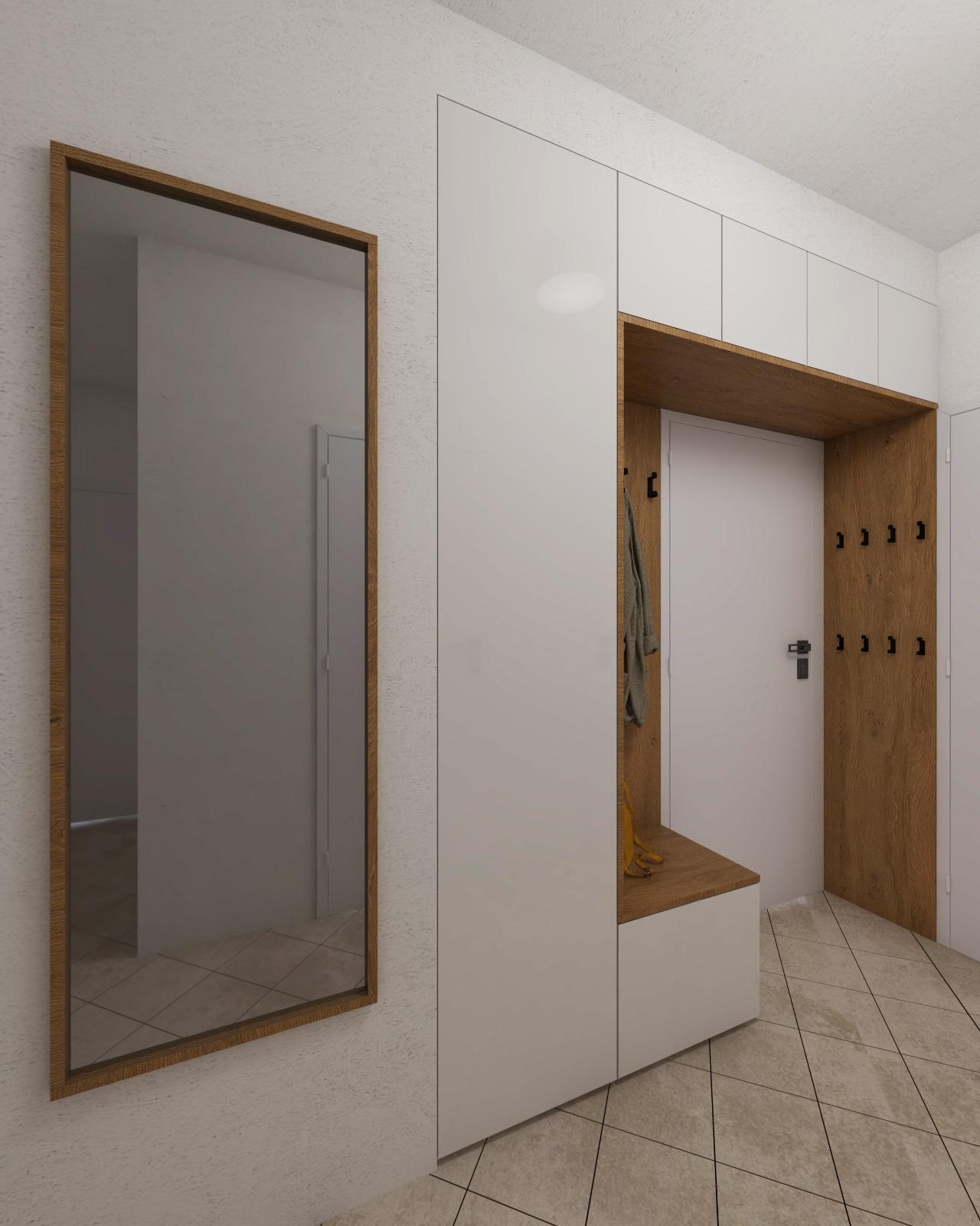 Návrh interiéru bytu Brno 4