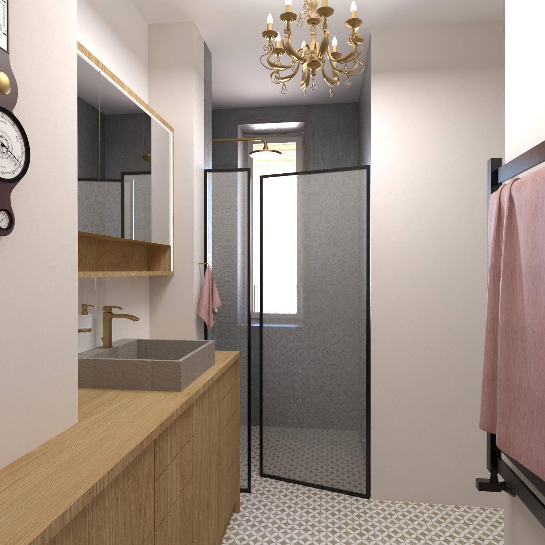 Návrh interiéru luxusního bytu v Praze4