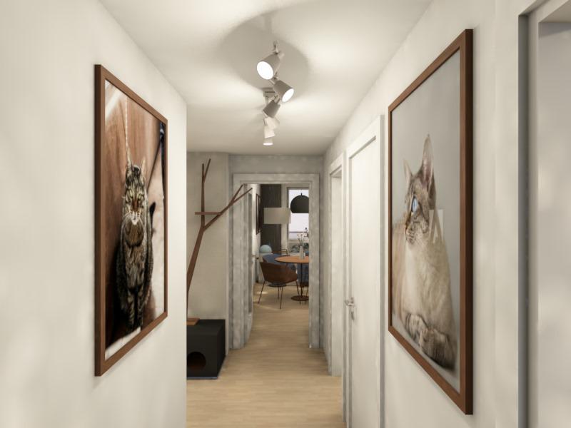 Návrh a realizace interiéru milovníků koček v Praze 3