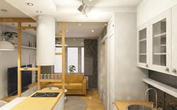 Návrh interiéru garsonky 5