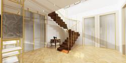 Návrh interiéru luxusní byt Praha 6