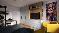 Návrh interiéru bytu Brno 1