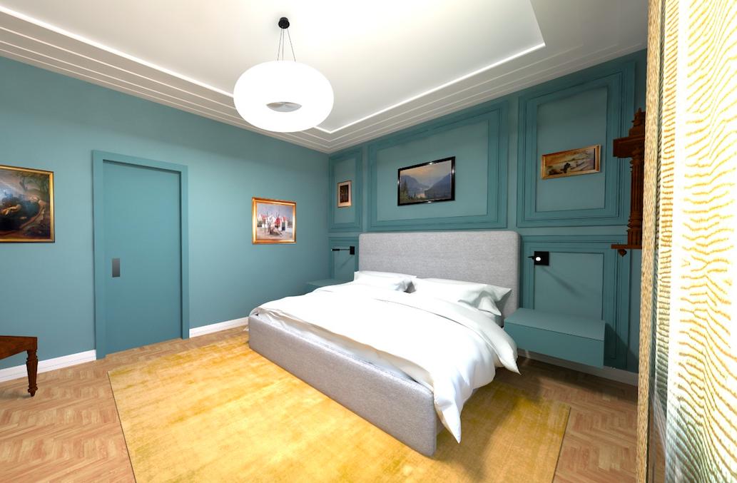 Návrh interiéru luxusního bytu v Praze6