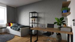 Návrh interiéru bytu Brno 5