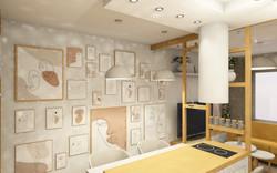 Návrh interiéru garsonky 3