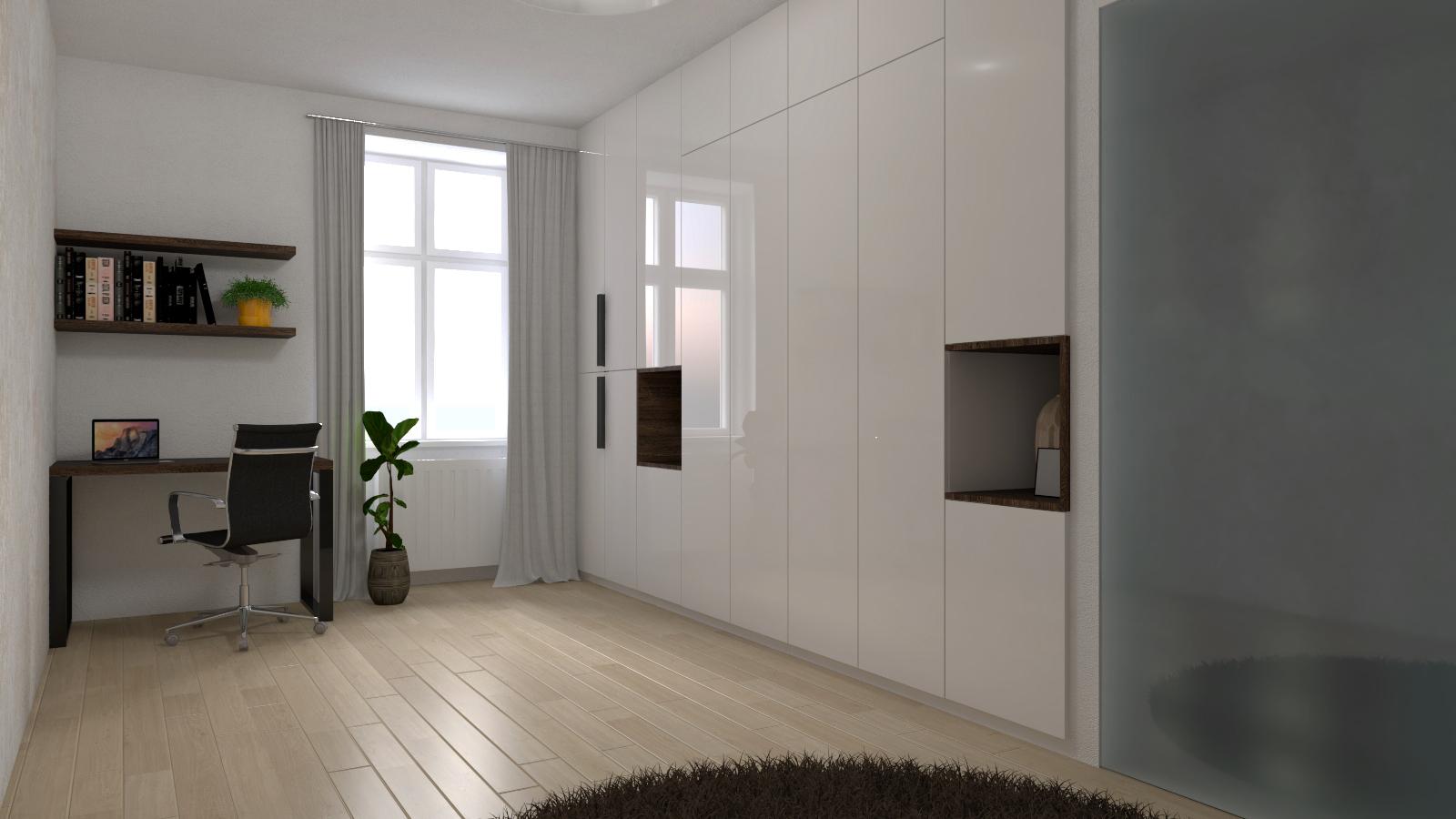 Řešení interiéru multifunkční místnosti 3