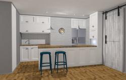 Návrh interiéru nováho bytu Radlice
