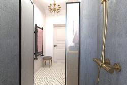 Návrh interiéru luxusního bytu v Praze3