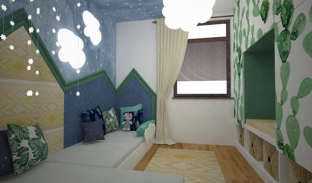 Návrh a realizace interiéru Trója 11
