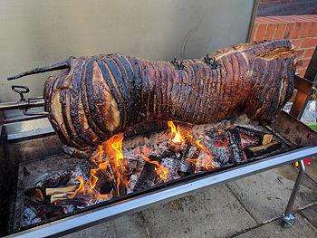 Flame BBQ Hog Roast