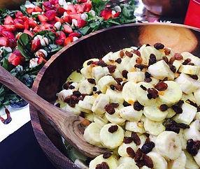 Banana salad & Summer salad