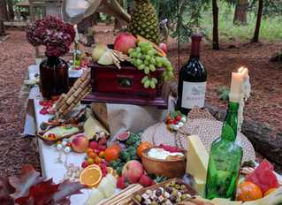 Grazing table as show stopper on your Wedding reception