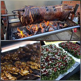Flame BBQ Hog Roast & Mix Grill