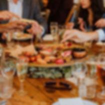 Mezze Sharing board served as starter