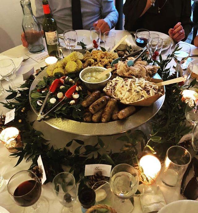 Flame BBQ wedding catering Berkshire Sharing platter