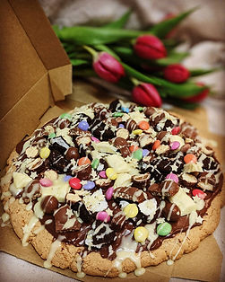 Giant loaded cookie for Mother's day