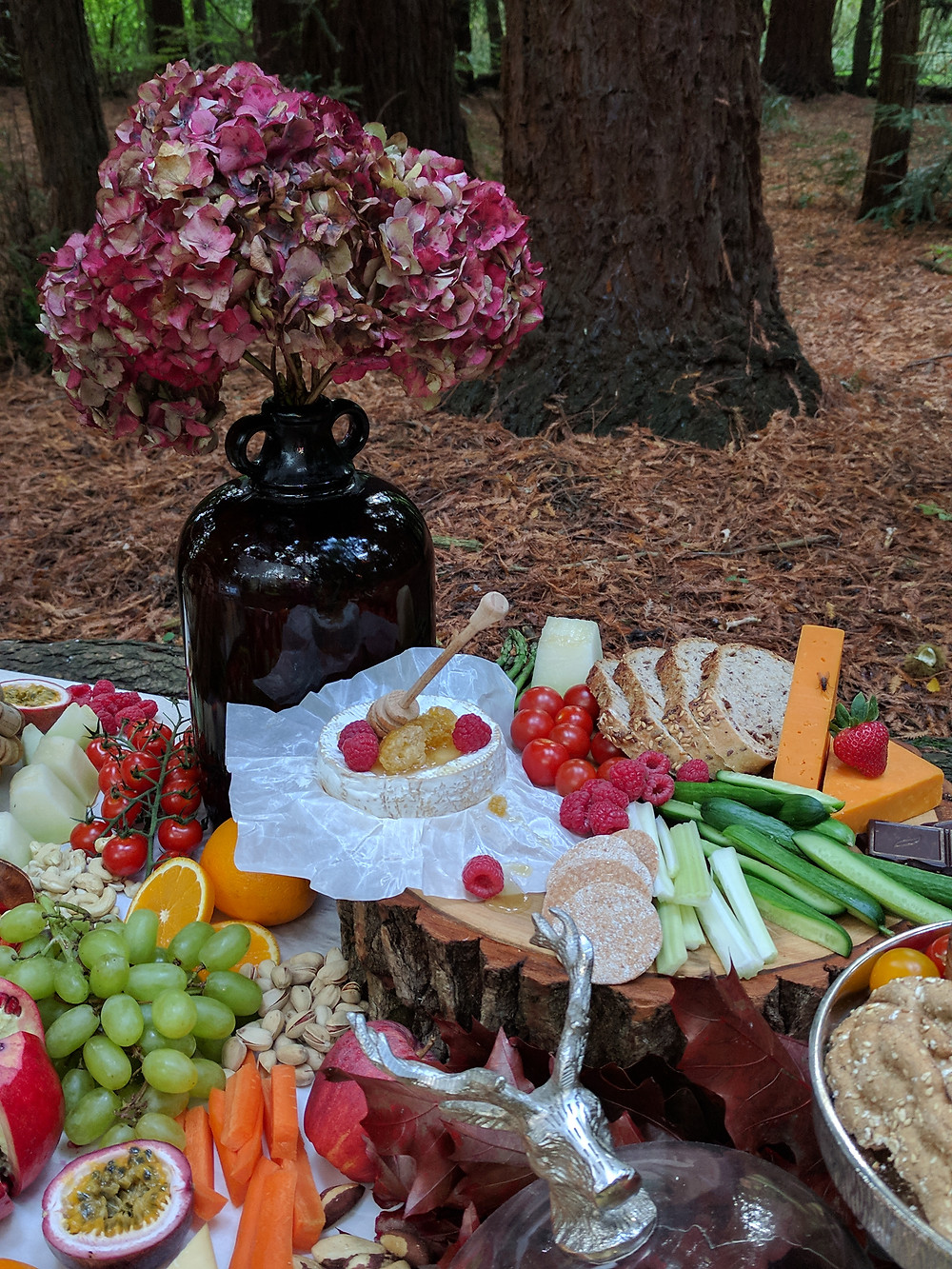 Grazing table Flame BBQ UK Original approach to wedding reception
