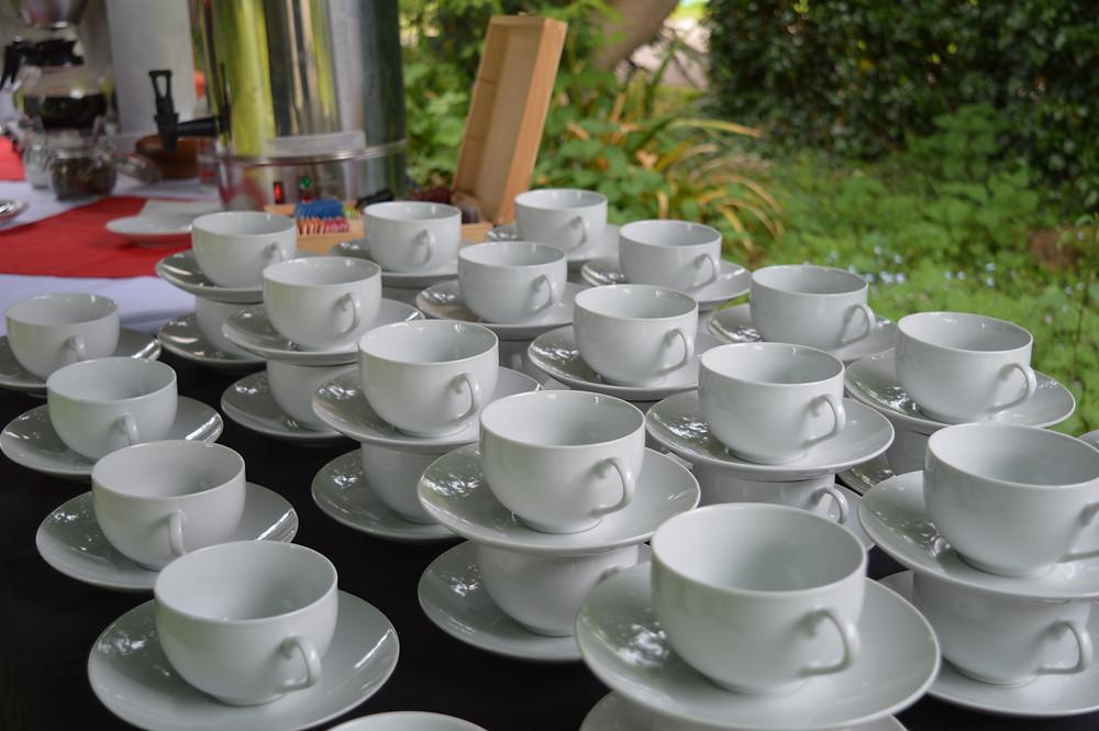 Flame BBQ Breakfast in the fields tea & coffee