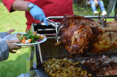 Flame BBQ Hog Roast Buffet