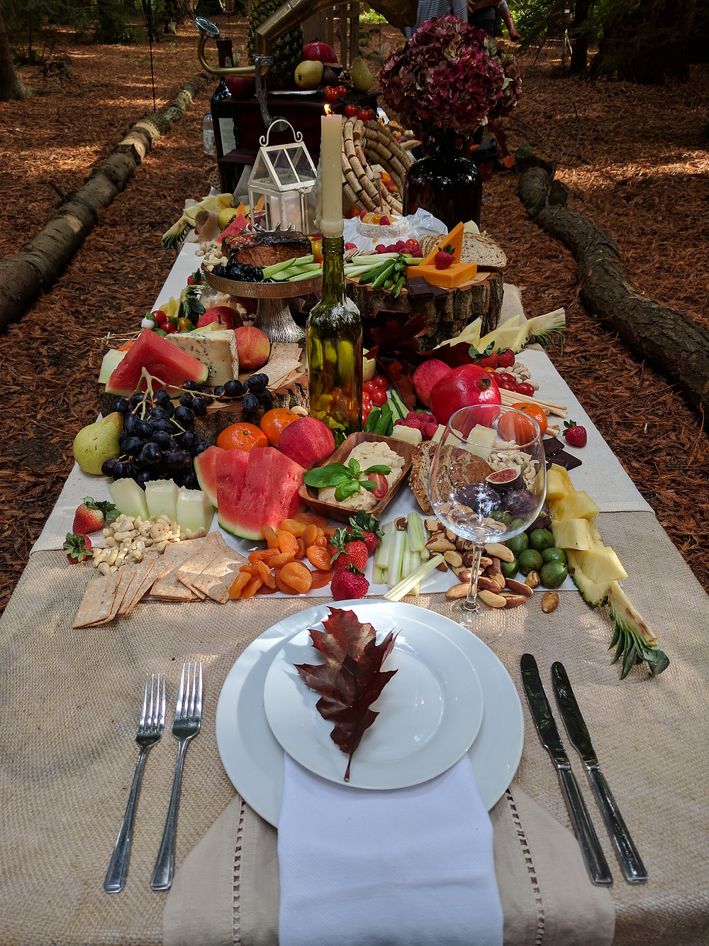 Grazing table Flame BBQ Alternative catering