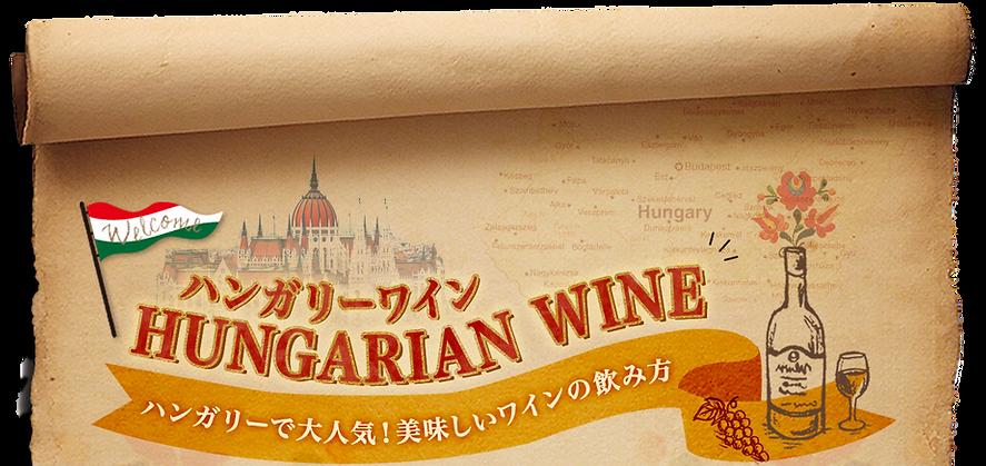 ハンガリーワイン、HUNGARIAN WINE、ハンガリーで大人気!美味しいワインの飲み方。