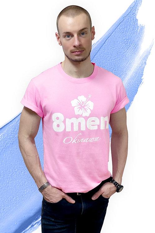 8MEN PINK T-shirt